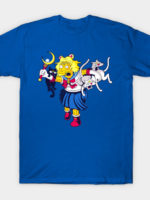 Moon Cat Lady T-Shirt