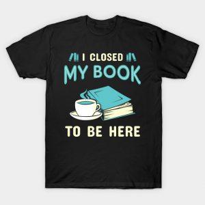 I Closed My Book. Funny Bookworm