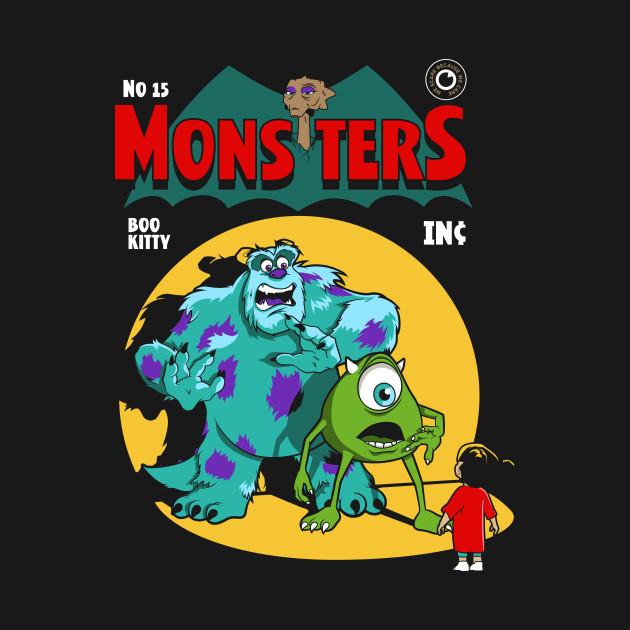 Mons-ters Inc Comic