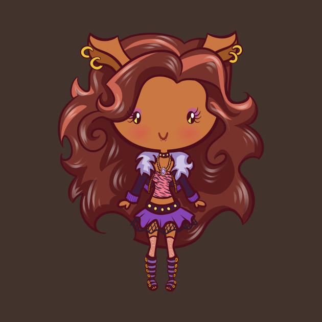 Werewolf Girl: Lil' CutiEs