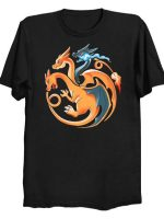 Fire, Flying and Dragon T-Shirt