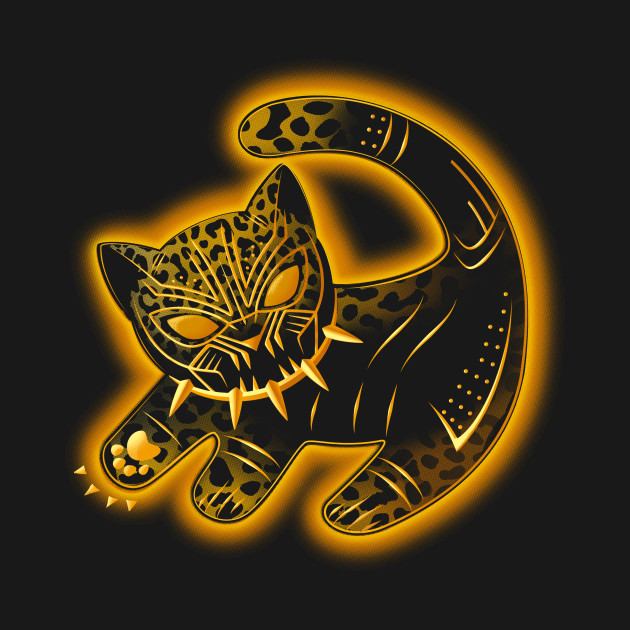 The false panther king