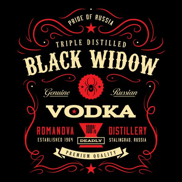 Black Widow Vodka