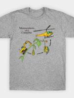 Metamorphosis Of a Caterpillar T-Shirt