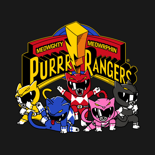 Purrr Rangers Cat