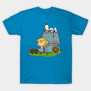 Legend of Zelda Peanuts Mashup T-Shirt