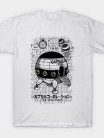 Capsule Spaceship T-Shirt