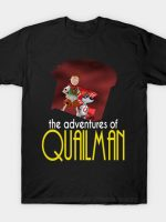 Adventures of Quailman and Quaildog T-Shirt