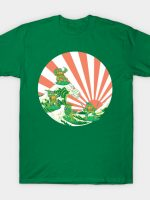The Great Wave Off Cowabunga T-Shirt
