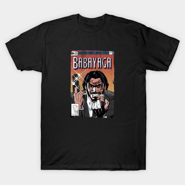 Baba Yaga Comics T-Shirt