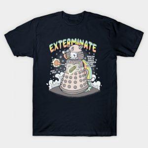 Doctor Who DalekCat T-Shirt