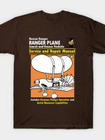 Rescue Plane Manual T-Shirt