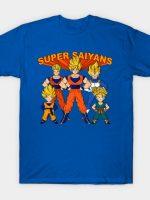 Super Saiyans T-Shirt