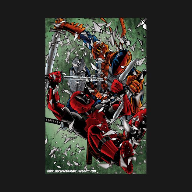 Deadpool versus Deathstroke