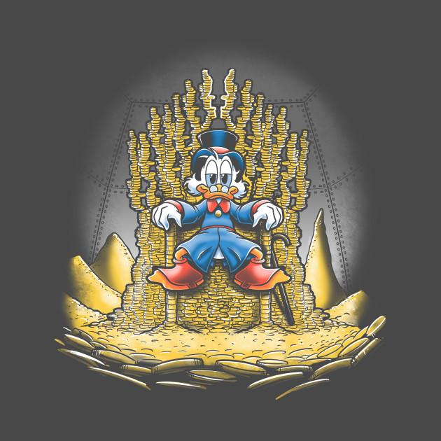 Gold throne