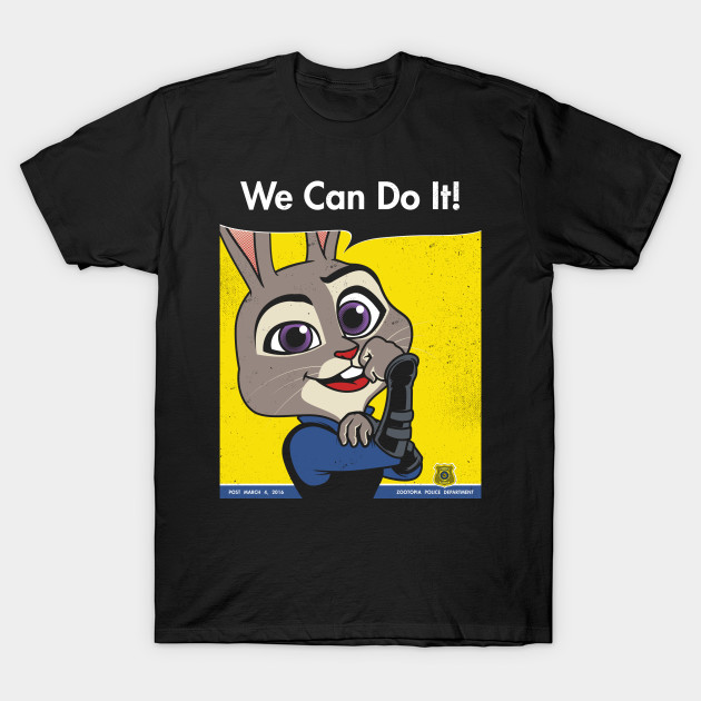 Judy can do it!