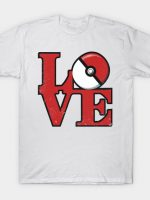 Love Pokemon T-Shirt