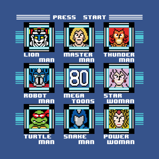 Mega 80's Toons