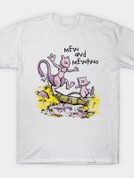 Mew and Mewtwo T-Shirt