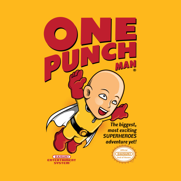One Punch Man Game Cover