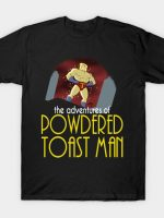 Powdered Toast Man The Animated Series T-Shirt