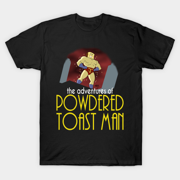 Powdered Toast Man The Animated Series