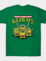 Teenage Mutant Ninja Aliens T-Shirt