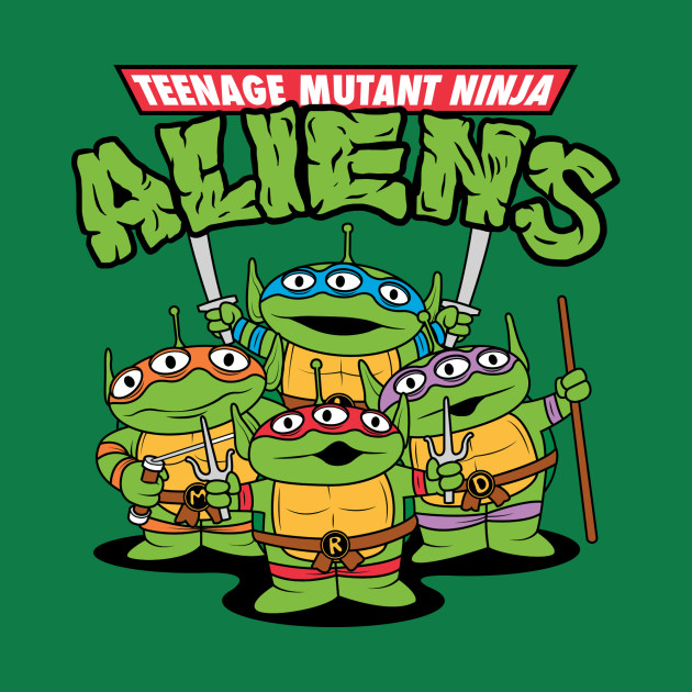 Teenage Mutant Ninja Aliens