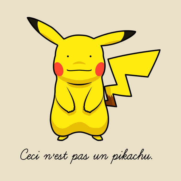 This is not a pikachu
