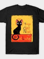 Chat noir et prisme lunare T-Shirt