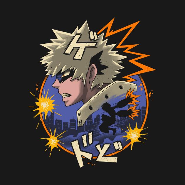 Explosive Quirk