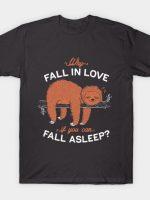 Fall Asleep T-Shirt