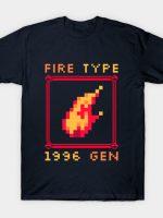 Fire Type T-Shirt