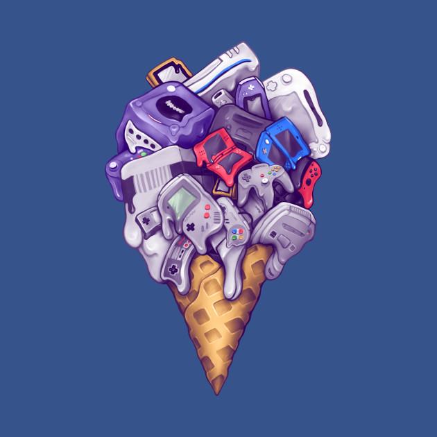 Ice Cream Nintendo Consoles