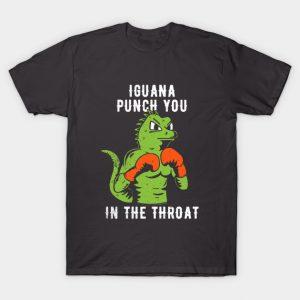 Iguana Punch You