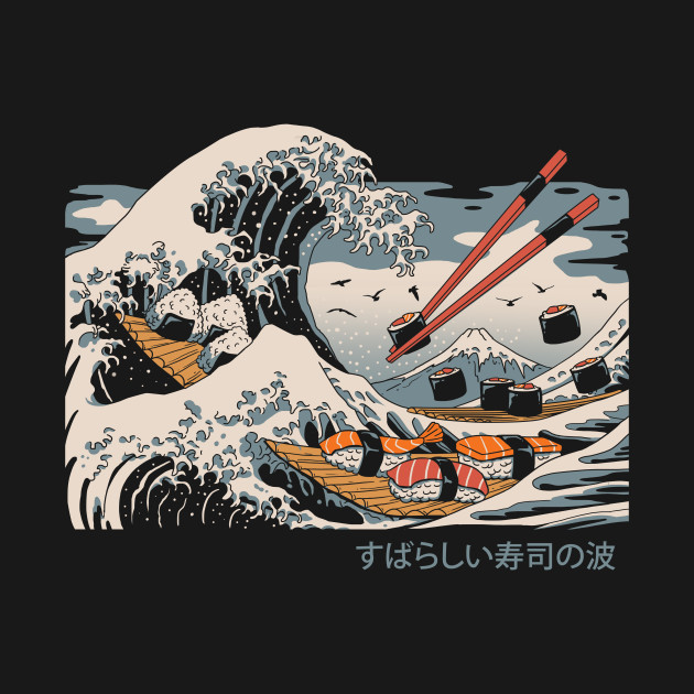 The Great Sushi Wave