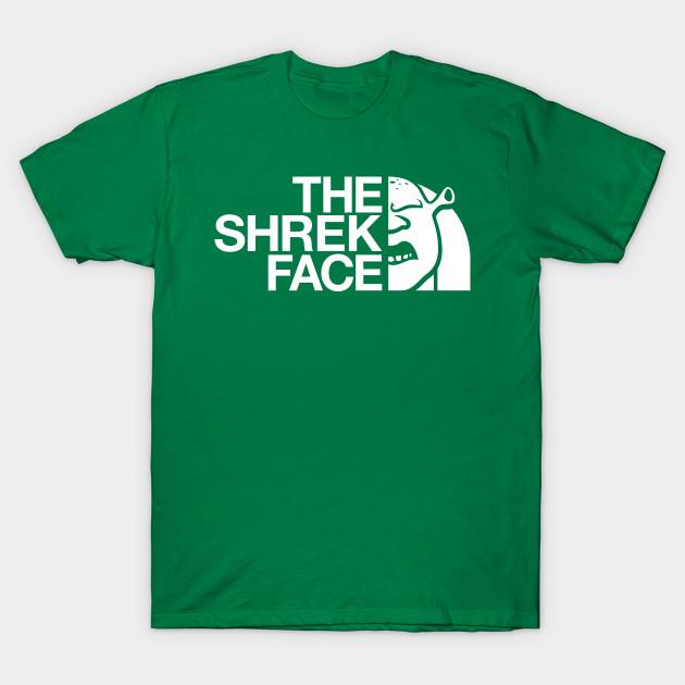 The Shrek Face (White)