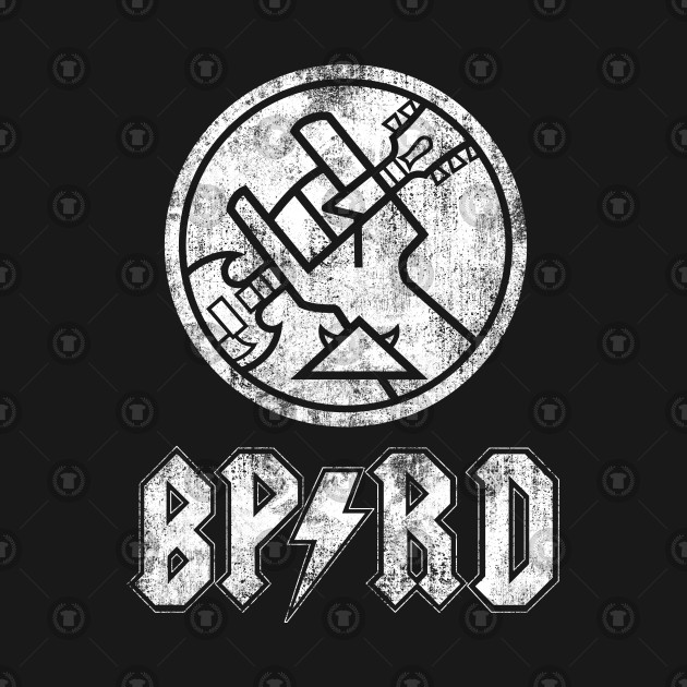 BPRD Rock Band (White dead bone)