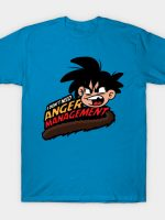 Dragon ball, anger management by GOKU T-Shirt