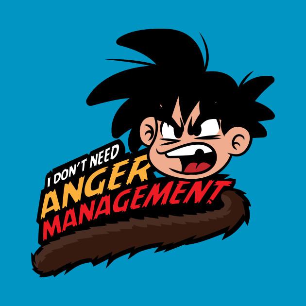 Dragon ball, anger management by GOKU