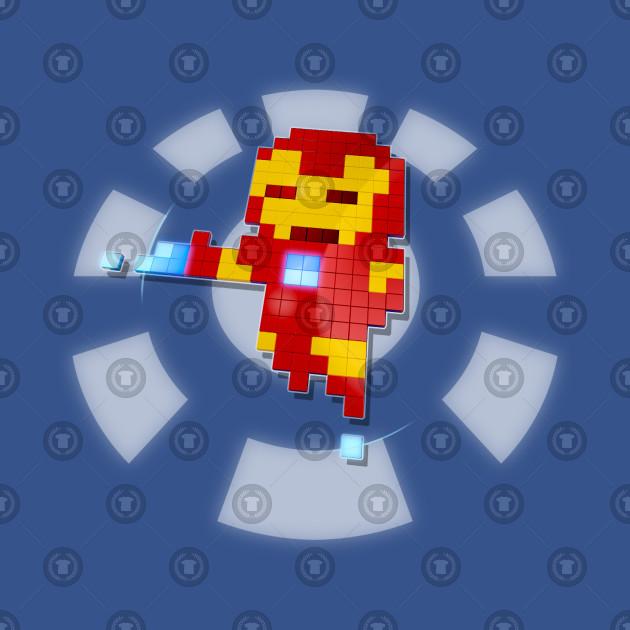 Iron Pixman 3D