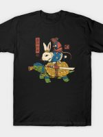 Kame, Usagi and Ratto Ninjas T-Shirt