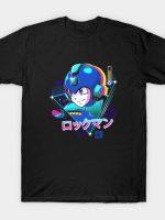 LoFi Blue Bomber T-Shirt