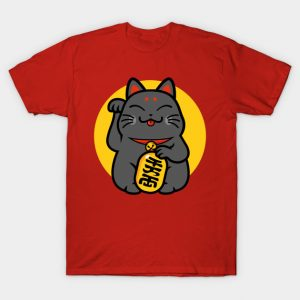 Maneki-neko - lucky black cat