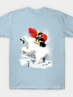 Penguin crossing the North Pole T-Shirt