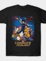 Space Cowboys of the Galaxy T-Shirt