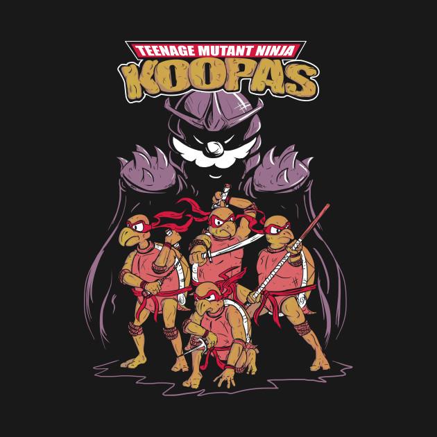 Teenage Mutant Ninja Koopas