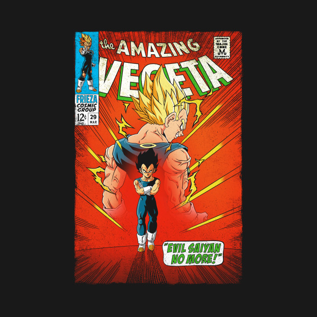 The Amazing Vegeta