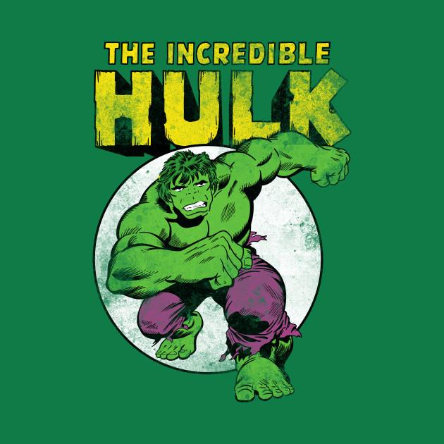 vintage the incredible hulk