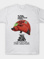 Full Metal Helmet T-Shirt
